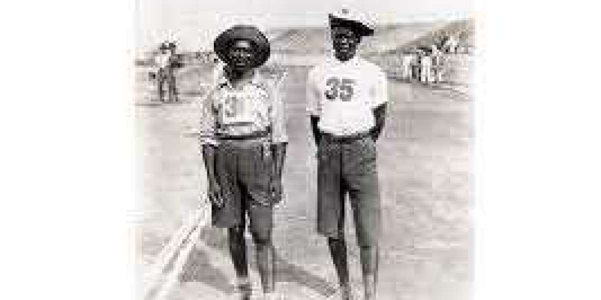 The first black Africans to compete in the Olympics were Tswana tribesmen from South Africa